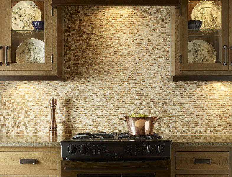 designer tile wall