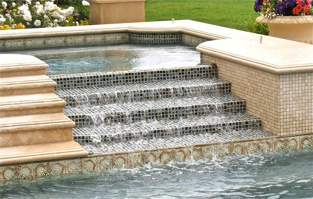 designer fountain tile
