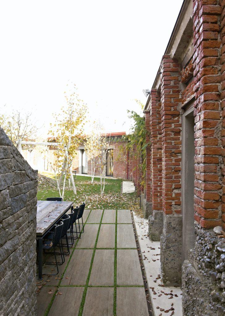 courtyard design and installation
