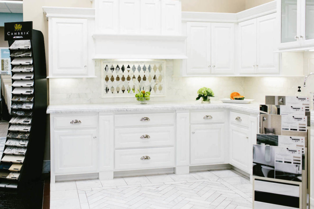 designer tile kitchen installation